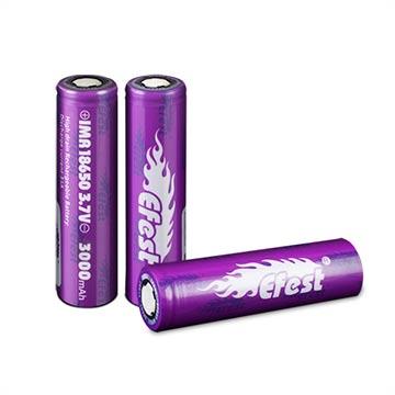 Batterie pour mod-box Efest IMR18650 - 3000mAh - 35A