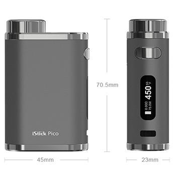 Batterie ModBox Eleaf Pico caractéristiques techniques