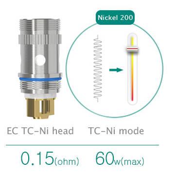 Résistance Eleaf Ni200 contrôle de température