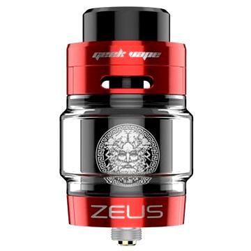 Clearomiseur Geek Vape Zeus Dual RTA en version rouge
