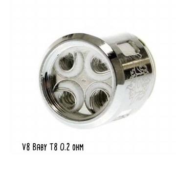Résistance Smoktech V8 Baby T8 octuple coils