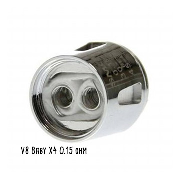 Résistance Smoktech V8 Baby X4 dual coils