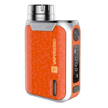 Mod box Vaporesso Swag 80W TC procédé IML orange