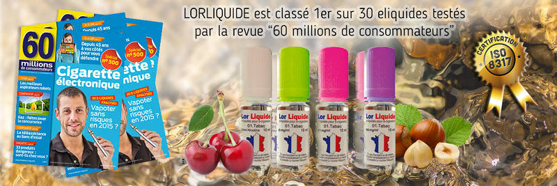 Lorliquide classé premier par 60 millions de consommateurs