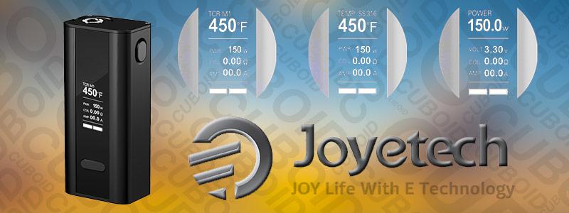 Test de la modbox Joyetech Cuboid 150W