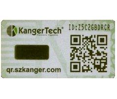 Vignette de sécurité des produits Kangertech