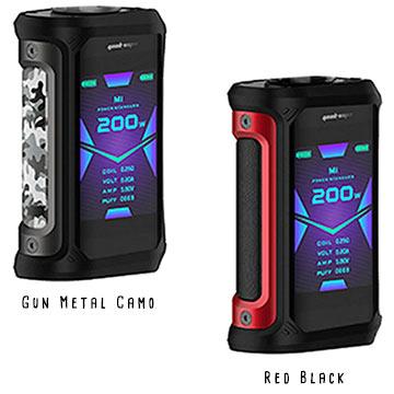 Aegis X Geekvape red black et gun metal camo