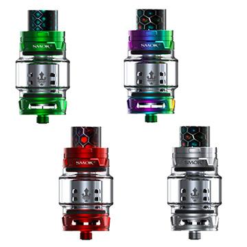 Divers coloris du clearomiseur Smoktech TFV12 prince