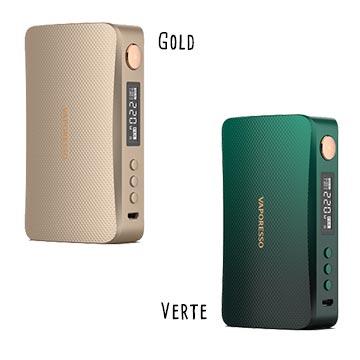 Box Gen-S 220W gold et verte