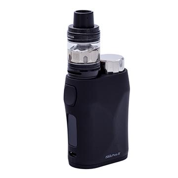 E-cigarette Eleaf Pico X et clearomiseur Vaporesso NRG SE