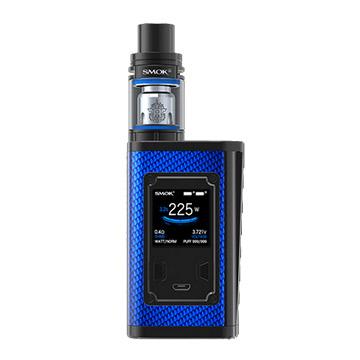 Modbox Smok Majesty 225W et TFV8 X-Baby édition carbone bleu