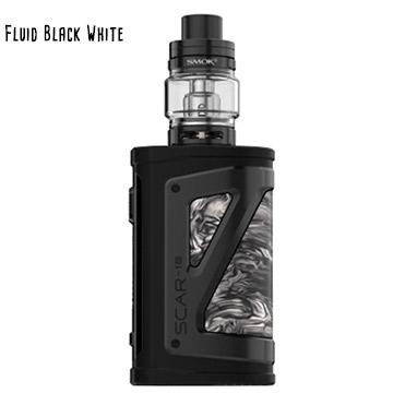 Kit Smoktech Scar18 et TFV9 black and white
