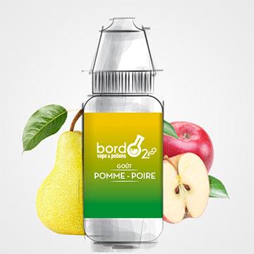 Pomme-Poire, Eliquide fruité BordO2