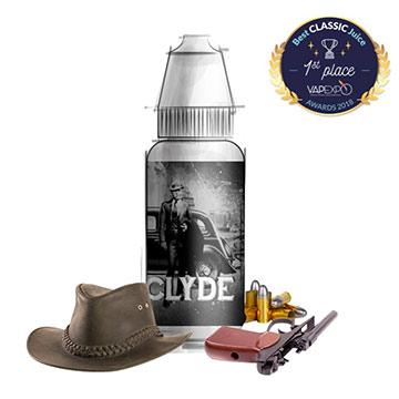 Eliquide premium Clyde, RY4 revisité par BordO2