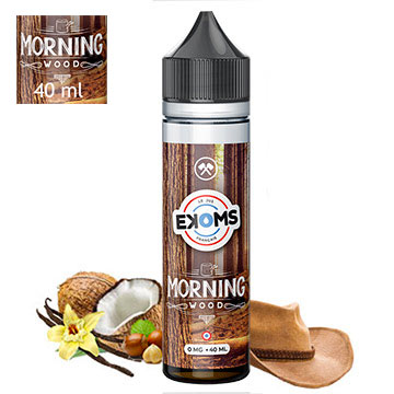 Ekoms X-Wood Morning wood 40 ml sans nicotine