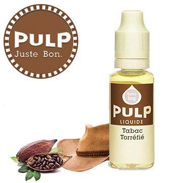 Eliquide Pulp blond torréfié classic sec et café