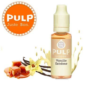 eliquide gourmand Pulp Vanille extrême
