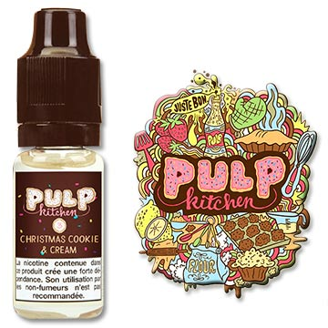 e-liquide Pulp Christmas Cookie Cream