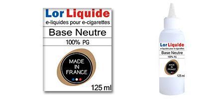 Base neutre Lorliquide Full PG (100%)
