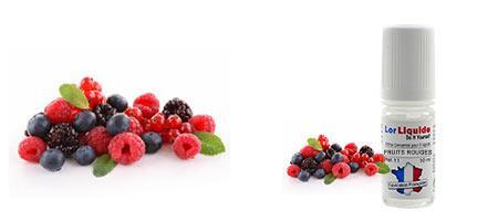 DIY Lorliquide arôme fruits rouges pour créer vos e-liquides