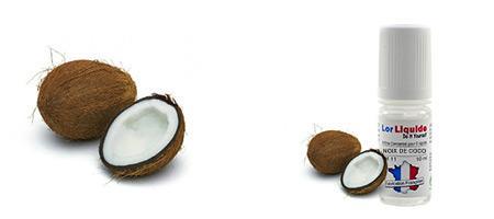 DIY Lorliquide arôme noix de coco pour vos créations de e-liquides