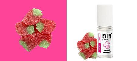 DIY French Touch par LFI arôme Fraise bonbon pour vos e-liquides personnalisés