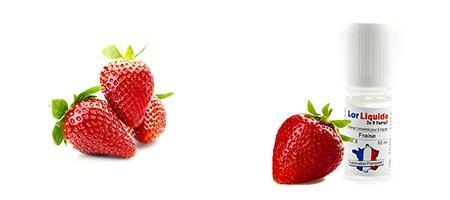 DIY Lorliquide arôme fraise pour fabriquer vos eLiquides