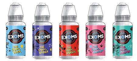 Assortiment de 5 e-liquides Ekoms Punk
