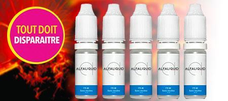 Lot promotionnel de 5 eliquides Alfaliquid Tabac blond FR-M