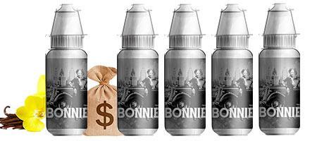 Lot de 5 E-liquides tabac Bordo2 Bonnie