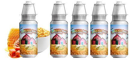 Lot de 5 E-liquides Premium Bordo2 Cereall Day