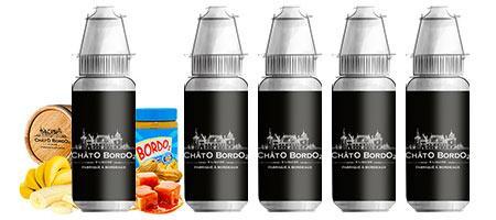 Lot de 5 E-liquides gourmands Bordo2 Chatô Bordo2