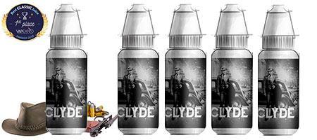 Lot de 5 E-liquides tabac Bordo2 Clyde