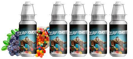 Lot de 5 E-liquides Premium Bordo2 Slap Shot