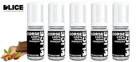 Promo lot de 5 e-liquides Dlice Le Corse