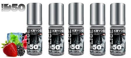 Lot économique de 5 e-liquides Dlice Kryos