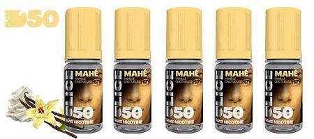 Lot économique de 5 e-liquides Dlice Mahé