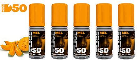 Lot de 5 e-liquides fruités Dlice Mel
