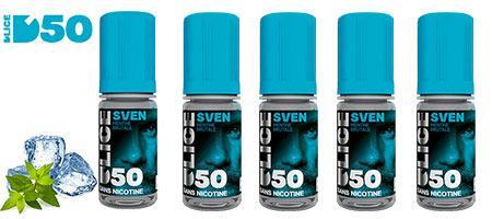 Lot de 5 e-liquides Dlice Sven pas chers