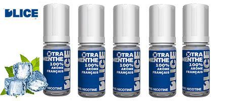 Lot économique de 5 e-liquides Dlice Xtra-Menthe