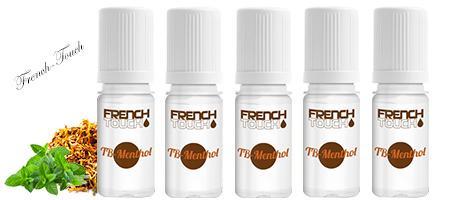 Lot de 5 eLiquides French Touch Tabac Menthol