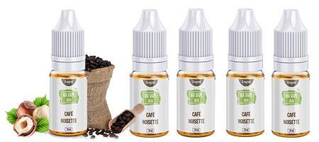 Eliquide Ma Vape Bio Café noisette en promotion