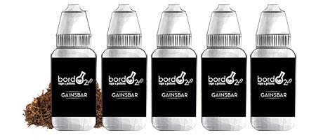 Lot de 5 E-liquides Bordo2 Gainsbar