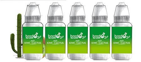 Lot de 5 E-liquides Bordo2 Kiwi-Cactus