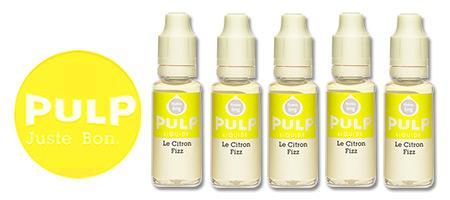Lot de 5 E-liquides Pulp Citron Fizz