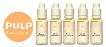 Lot de 5 E-liquides Pulp Corne de Gazelle