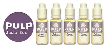 Lot de 5 E-liquides Pulp Alabama