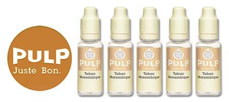 Lot de 5 E-liquides Pulp Mozambique