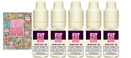 lot de 5 e-liquides Pulp Fat juice arôme Big bob's blend