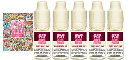 Promo permanente sur le Fat juice Chubby Berries aux baies et fruits rouges